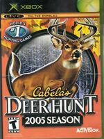 Cabela's Deer Hunt 2005 Season Microsoft Xbox Video Game Complete