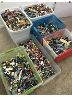 2 pounds of Lego Bulk Lbs Mixed PARTS & PIECES STAR WARS CITY 100%