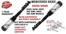 MERCEDES 00-06 S350 S430 S500 S55 S600 S65 Rear Left or Right Air Strut Assembly