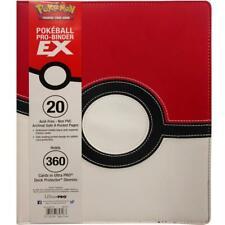 More details for ultra pro - 9 pocket premium pro binder - pokemon pokeball