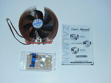 Zalman CNPS7000A CPU Fan/Copper Heatsink Intel P4 478/AMD 462 NO SPEED CONTROL