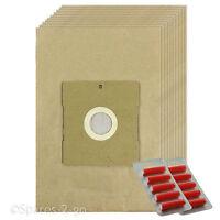 10 x Vacuum Dust Bags For Efbe Schott ST100 ST28BT BSS7000 Hoover Bag + Fresh