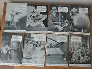 Rare 1950s AWAffairs Monthly Magazines Hawker Siddeley Aircraft  Group Coventry