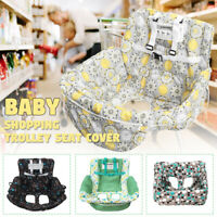 Foldable Baby Shopping Trolley Cover Cart Seat Pad High Chair Soft Mat Cushions