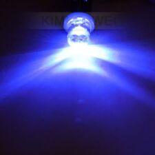 2 x Blue LED Side Light Bulbs T4W Bayonet BA9S 24V NEW