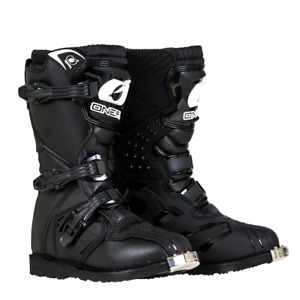 2018 Oneal Motocross/Offroad Rider Youth Boots BLACK K11