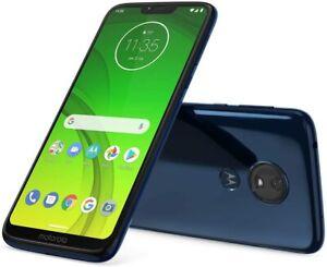"Brand New Motorola Moto G7 Power XT1155-5 Marine Blue 6.2"" (Cricket) Smartphone"