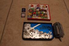 Super Smash Bros. (Nintendo 3DS, 2014) Blue Pokemon Sun Super Mario 3D Land