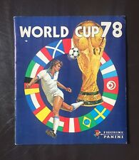 Panini World Cup 1978 Complete Album Good Condition 78