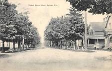 Talbot Street Scene Aylmer, Ontario, Canada Vintage Postcard 1911
