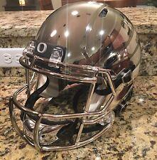 Oregon Ducks Chrome Full Size Authentic Rose Bowl Helmet 2012 Riddell Revo Speed