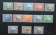 Aden 1939 - 1948 set to 10R MM SG18 - SG27