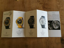 New - Booklet ARNOLD & SON Watches Relojes Montres - For Collectors