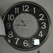 1x Wand Uhr Metall  New York 49 Bond Street 63 x 6 cm XXL von PTMD
