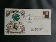 ETATS-UNIS ALEXANDRE GRAHAM BELL INVENTEUR - 1er JOUR BOSTON MASS. 28 10 1940