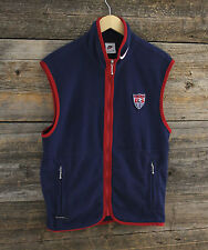Nike US Soccer Thermafit Fleece Vest Mens Small