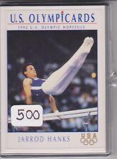 (500) 1992 US OLYMPIC HOPEFULS JARROD HANKS CARDS #45 ~ GIANT LOT ~ GYMNASTICS
