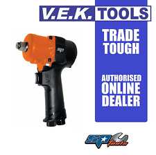 """SP TOOLS 1/2"""" SNAP ON DRIVE AIR IMPACT WRENCH-TWIN HAMMER 875NM -SI CP"""