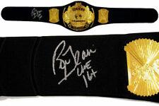 Nature Boy Ric Flair Autographed Signed Jakks Heavyweight Champ Belt ASI Proof