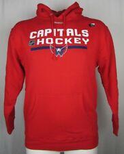 Washington Capitals NHL Reebok Men Pullover Hooded Sweatshirt