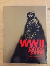 WWII WW2 SIGNED by James Jones Hardcover First Edition Book Art Weithas 1975