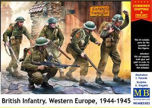 Master Box 3585 - 1/35 - British Infantry. Western Europe. 1944-1945 WWII UK