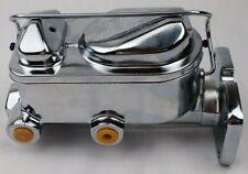 Mopar 1 1/16  bore  master cylinder A B E body Cuda Charger chrome 4 bolt