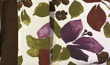 Martha Stewart Queen Duvet Cover Set Floral Earth Tones Noop