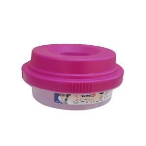 Tilty Bowl Größe XL pink Trinknapf für Hunde  - Auslaufsicher