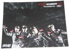 2011 Octane Academy Ford SEMA Show Promo postcard Block Foust Deegan Gittin