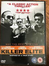 Jason Statham Robert De Niro Clive Owen KILLER ELITE ~ 2011 Spy Thriller UK DVD