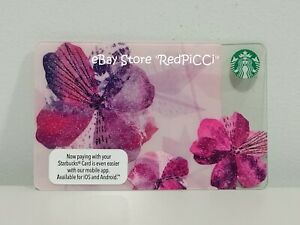 Starbucks MALAYSIA Spring Flower Gift Card (2016)