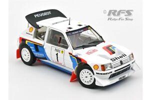 Peugeot 205 T16 E2 Timo Salonen Rallye Rally Monte Carlo 1986  1:18 Norev 184863