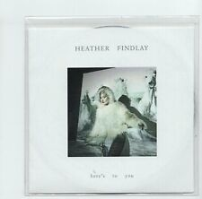 (JI276) Heather Findlay, Here's To You - 2019 DJ CD