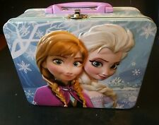 Preowned Disney Frozen Princess Tin 3D box