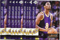 (10) 1999 Collector's Edge Kobe Bryant Los Angeles Lakers KB2 Insert Card Mint