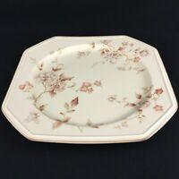 "VTG Platter 12 1/4"" by Mikasa Continental Ivory Tivoli Garden Floral Japan F4007"
