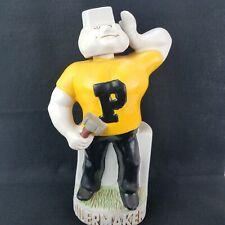 Purdue Boilermakers Ceramarte Purdue Pete Decanter Bottle Beefeater Gin empty
