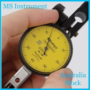 Genuine NEW Mitutoyo  513-404-10T Dial Test Indicator Full Set Australia Stock
