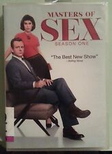 MASTERS OF SEX  season one  DVD no slipcover