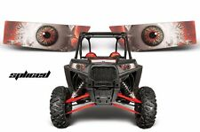 AMR Racing Polaris RZR 1000 UTV Headlight Graphics Eye Sticker Decals SPLICED