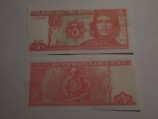 REPÚBLICA DE CU BA 3 PESOS : DEL AÑO 2004 DE ERNESTO GUEVARA  ( S/C )