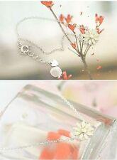 Bracelet Daisy flower silver colour zinc alloy jewellery gift present