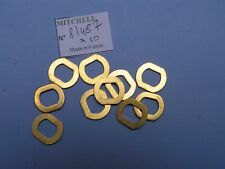 10 STEEL KEYED WASHER REEL PART 81487 RONDELLE 498 & autres MOULINETS MITCHELL