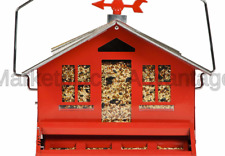 Perky-Pet 338 Squirrel-Be-Gone Ii Country House Bird Feeder with Weathervane,.