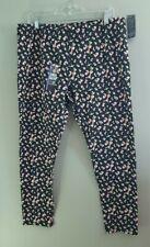 NWT No boundaries Ankle Leggings XXL 19 juniors floral print cotton
