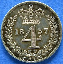 More details for william iv 1837 fourpence maundy issue.                      ch11-668