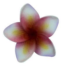 Hawaii Hair Clip Lei Party Luau Flower Dance Beach Photo Foam Plumeria Pink Hrt