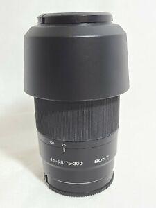 Sony Alpha SAL75300 75-300mm F/4.5-5.6 Lens A33 A35 A37 A55 A57 A77 A65 A300