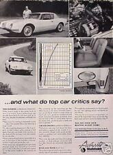 1963 63 Studebaker Avanti ORIGINAL Vintage Ad CMY STORE 4MORE ADS  5+= FREE SHIP